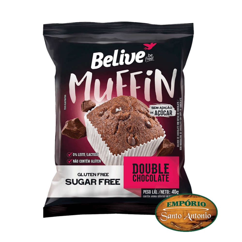 Belive - Muffin Double Chocolate 40g