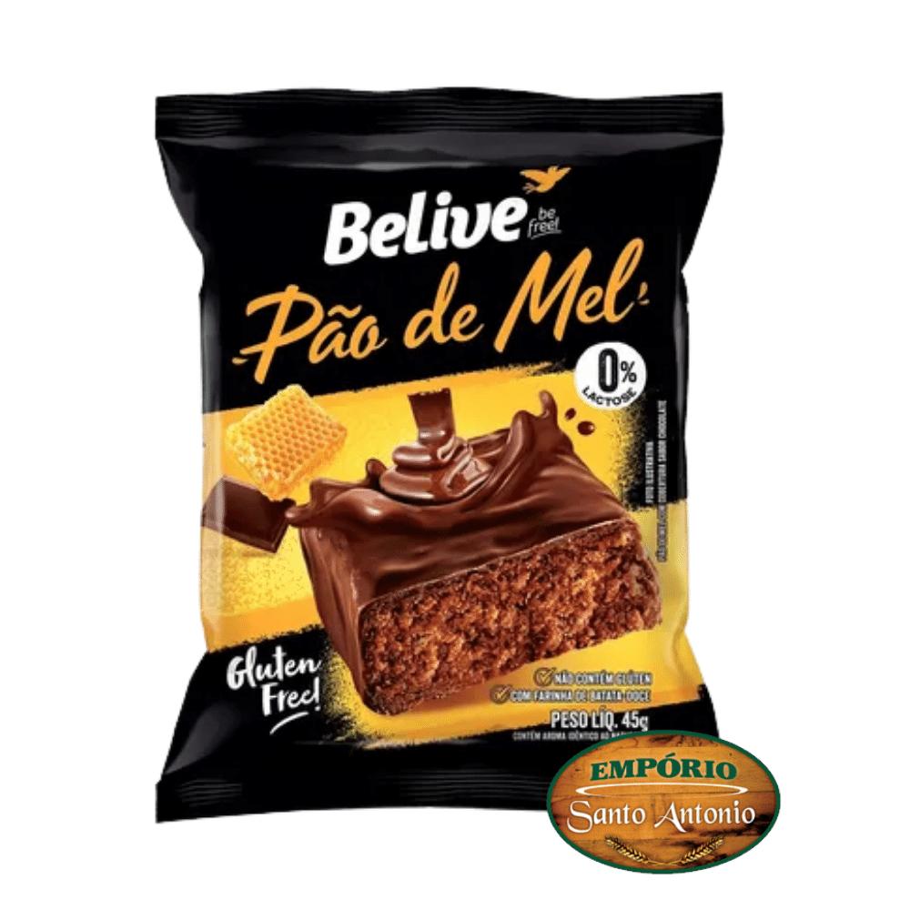Belive - Pão de Mel Zero Açúcar 45g