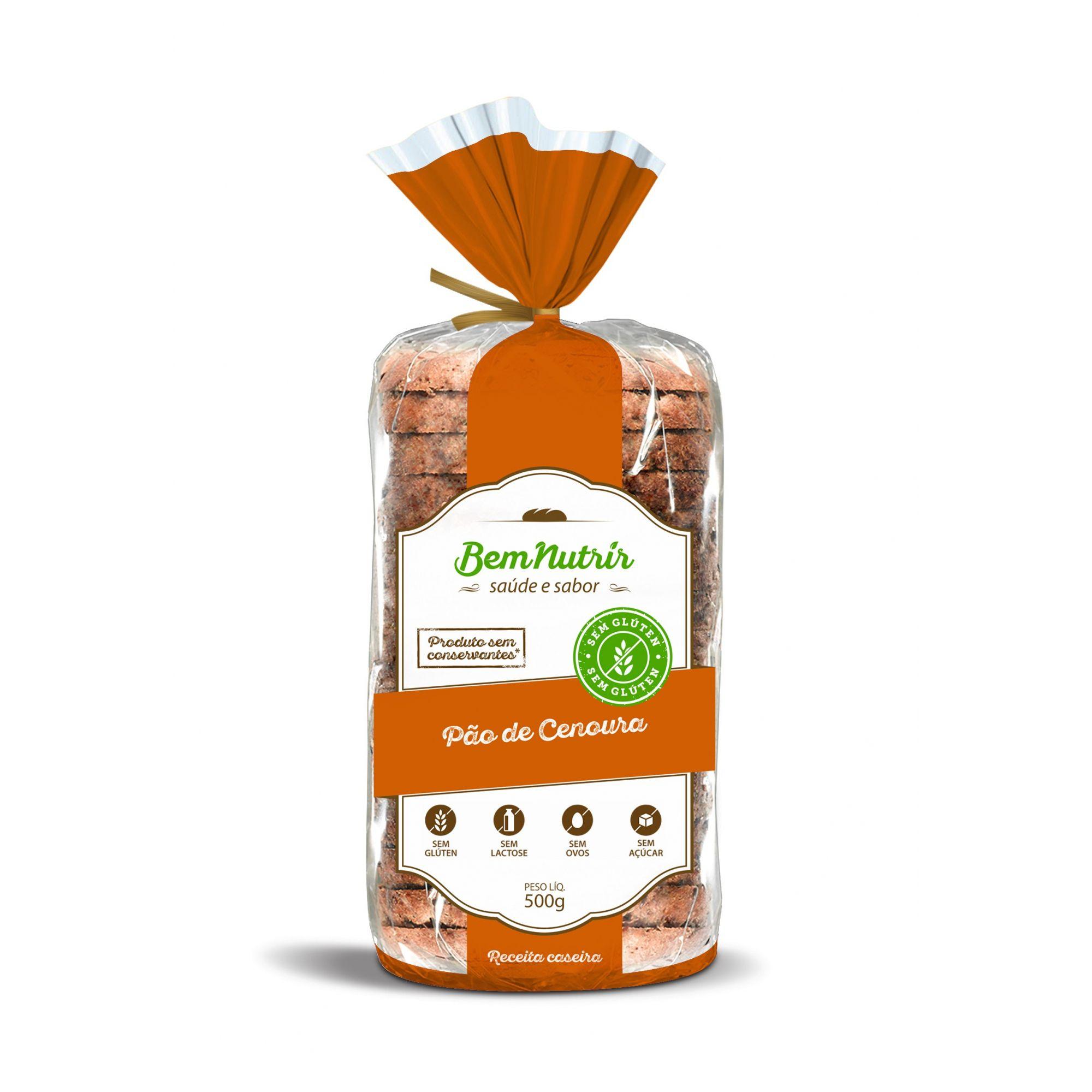 Bem Nutrir - Pão de Cenoura 500g