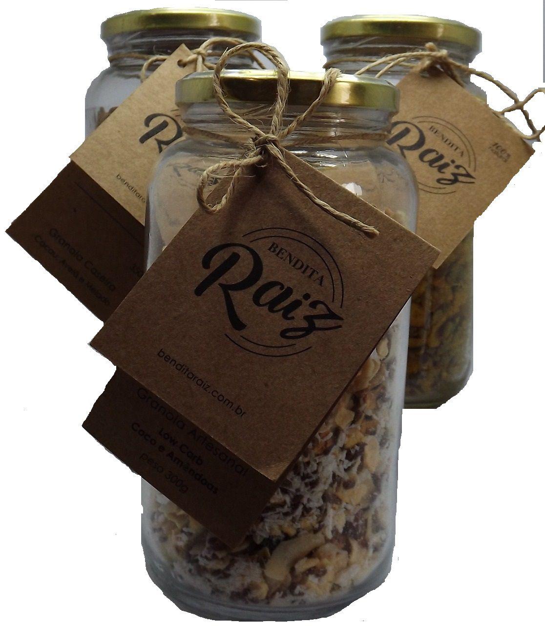 Bendita Raiz - Granola Artesanal Salgada 300g