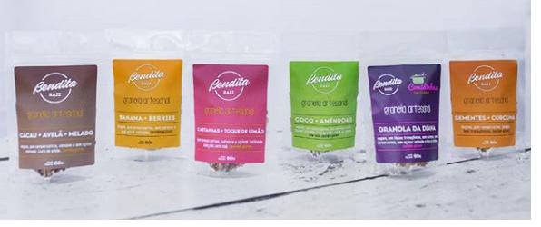 Bendita Raiz - Granola Artesanal Todos os Sabores 60g