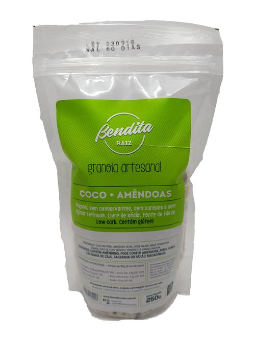 Bendita Raiz - Granola Artesanal Coco e Amêndoas 250g