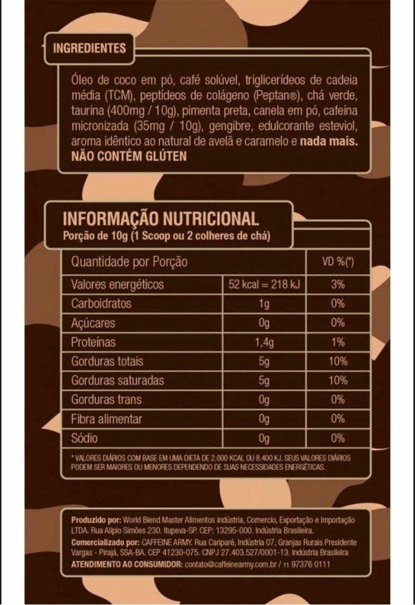 Caffeine Army - Supercoffe Tradicional 2.0 220g