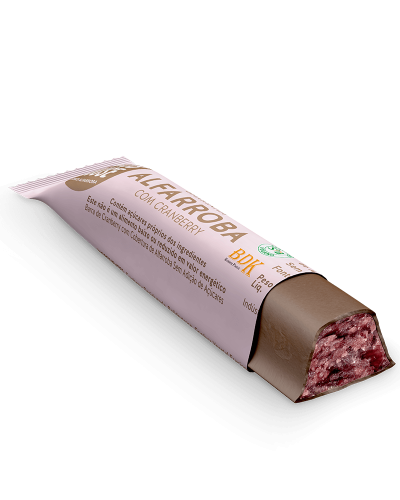 Carob House - Barrinha Alfarroba com Cranberry 25g