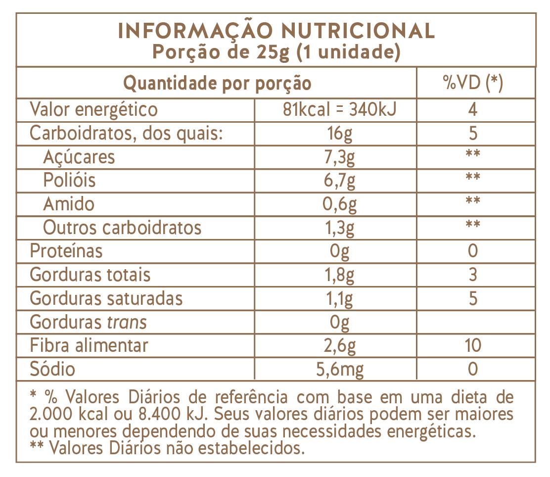 Carob House - Barrinha Alfarroba Maça, Canela e Aveia 25g
