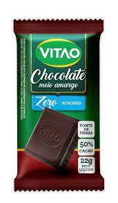 Chocolate Meio Amargo - Zero Açúcar - 22g