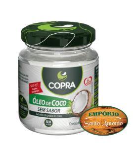 Copra - Óleo de Coco sem sabor/ cheiro 200ml