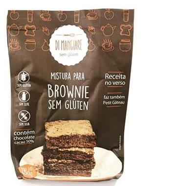 Di Mangiare - Mistura para Brownie 450g