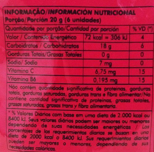 Dori - Jubes Fruit Snacks Iogurte com Morango 100g