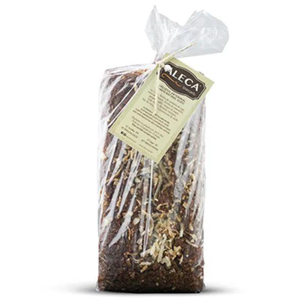 Aleca - Pão Artesanal Low Carb sabor Natural Castanhas 400g