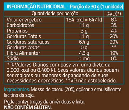 Espírito Cacau - 70% 100g