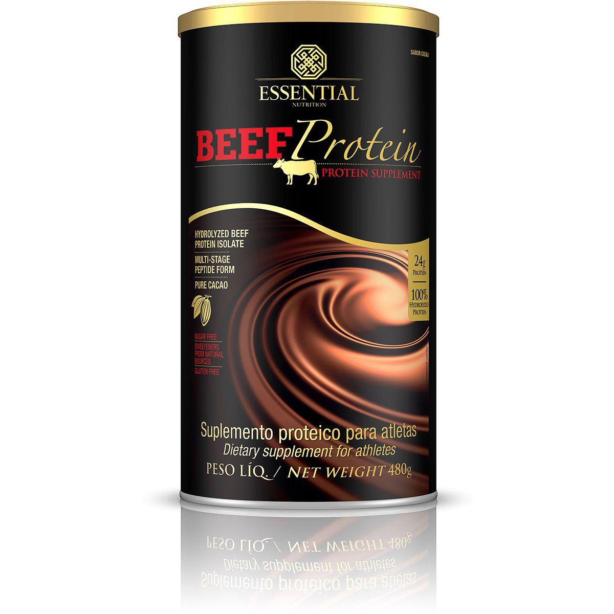 Essential - Beef Protein Cacau 480g