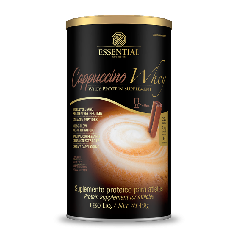 Essential - Cappuccino Whey café 448g