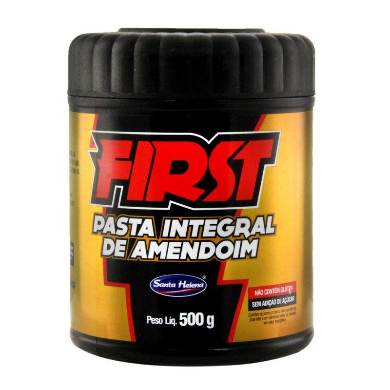 First - Pasta Integral de Amendoim 500g