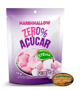 Florestal - Marshmallow Zero Açúcar 70g