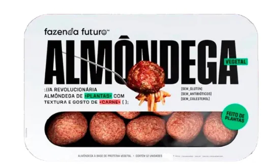 Fazenda Futuro - Almondegas de Carne Vegetal 275g