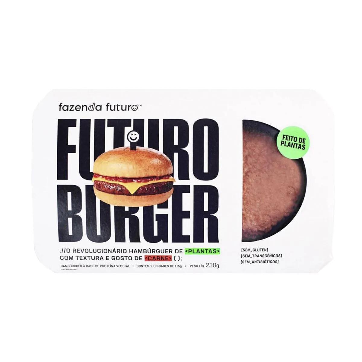 Fazenda Futuro - Hambúrger de Carne Vegetal 2.0 230g