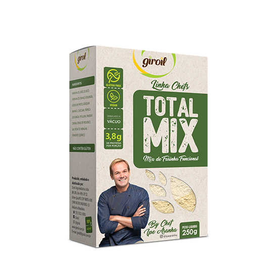 Giroil - Mix de Farinhas Funcional Total Mix 250g
