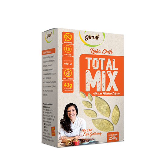 Giroil - Mix de Farinhas Salgado Total Mix 250g