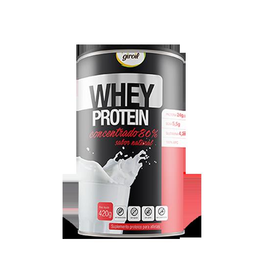 Giroil - Whey Protein Concentrado 80% 420g