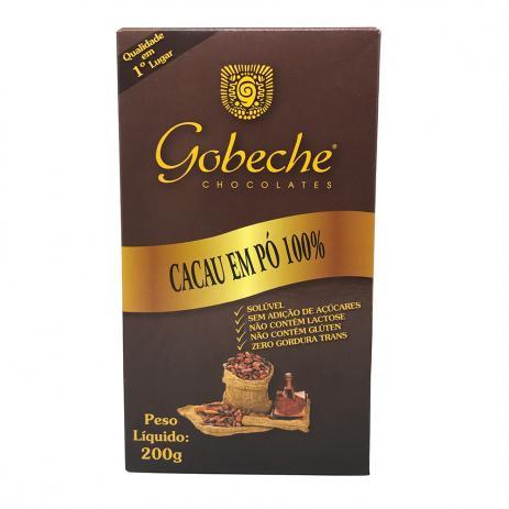 Gobeche - Cacau em Pó 100% 200g