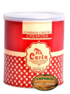 Goiabada Cremosa Diet Tia Carla - Lata 800g