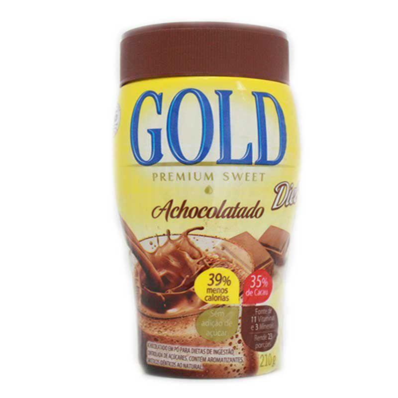 Gold - Achocolatado Diet 210g