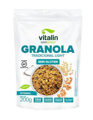Granola Tradicional Light Vitalin (200g.)