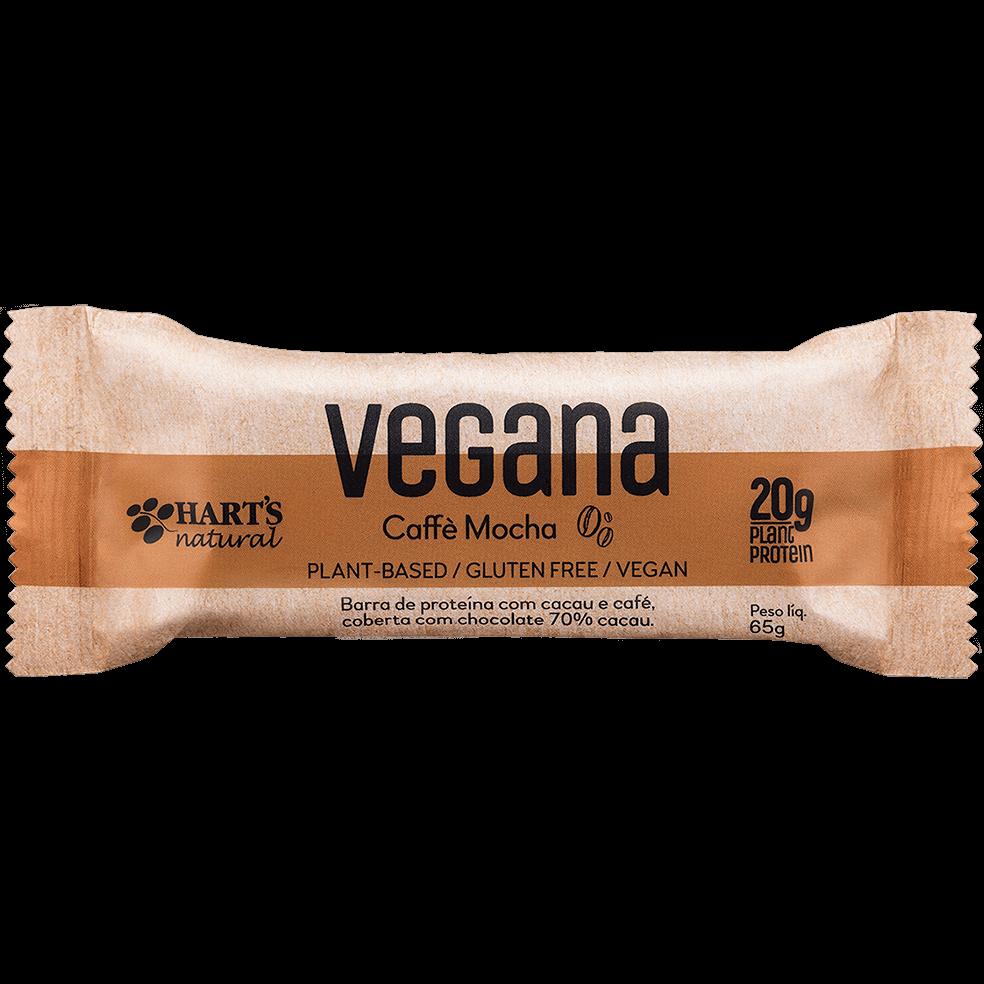 Hart's Natural - Barra de Proteína Vegana Caffè Mocha 65g
