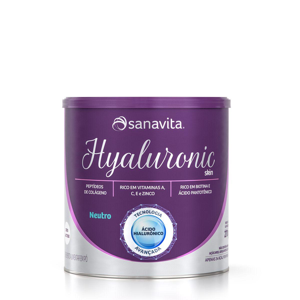 Hyaluronic Skin- Neutro (270g.)