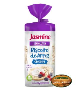 Jasmine - Biscoito de Arroz 90g