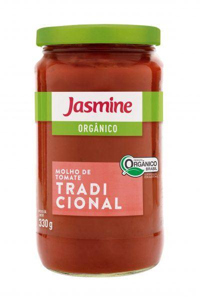 Jasmine - Molho de Tomate Tradicional 330g