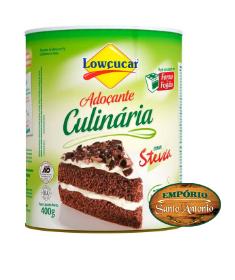 Lowçucar - Adoçante Culinária com Stevia 400g