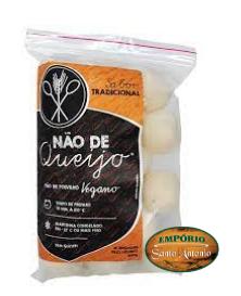 Não de Queijo -Tradicional -  Pão de Polvilho Vegano 400g