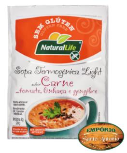 Natural Life - Sopa Termogênica Light sabor Cenoura 20g