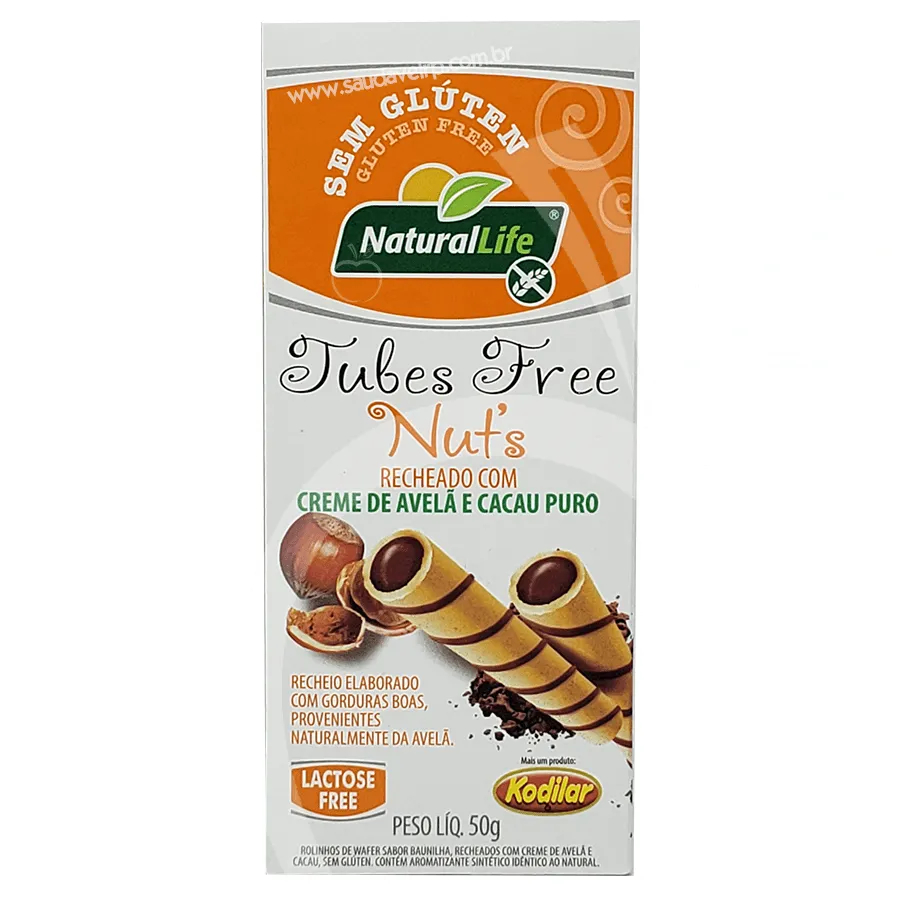 Natural Life - Tubes Free Nut's 50g