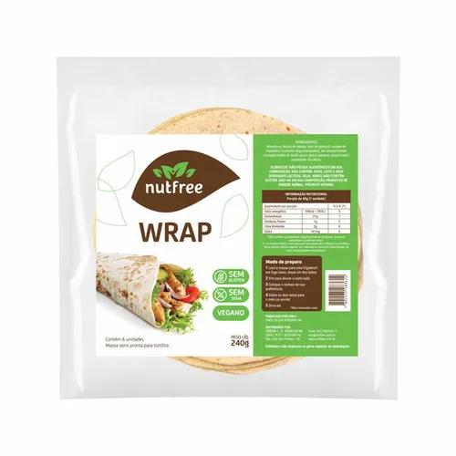 Nutfree - Wrap 6 unidades 240g