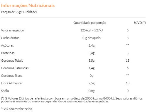 Nutsbar - Barra de Castanhas e Frutas Dit 25g