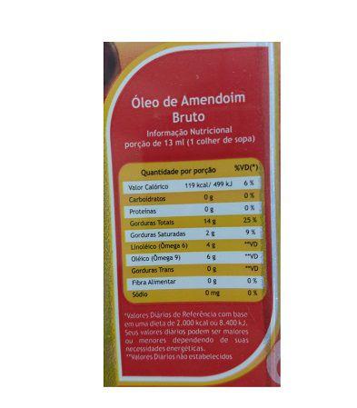 Pazze - Óleo De Amendoim 250 ml