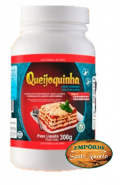 Queijoquinha - Queijo Vegetal Sabor Parmesão 300g