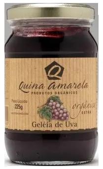 Quinoa Amarela - Geleia de Uva 225g