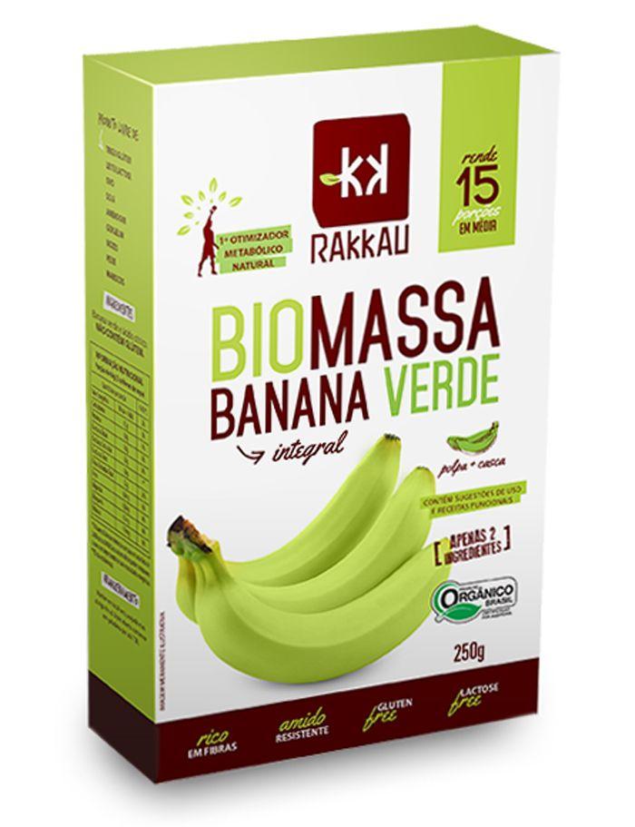 Rakkau - Biomassa Banana Verde 250g