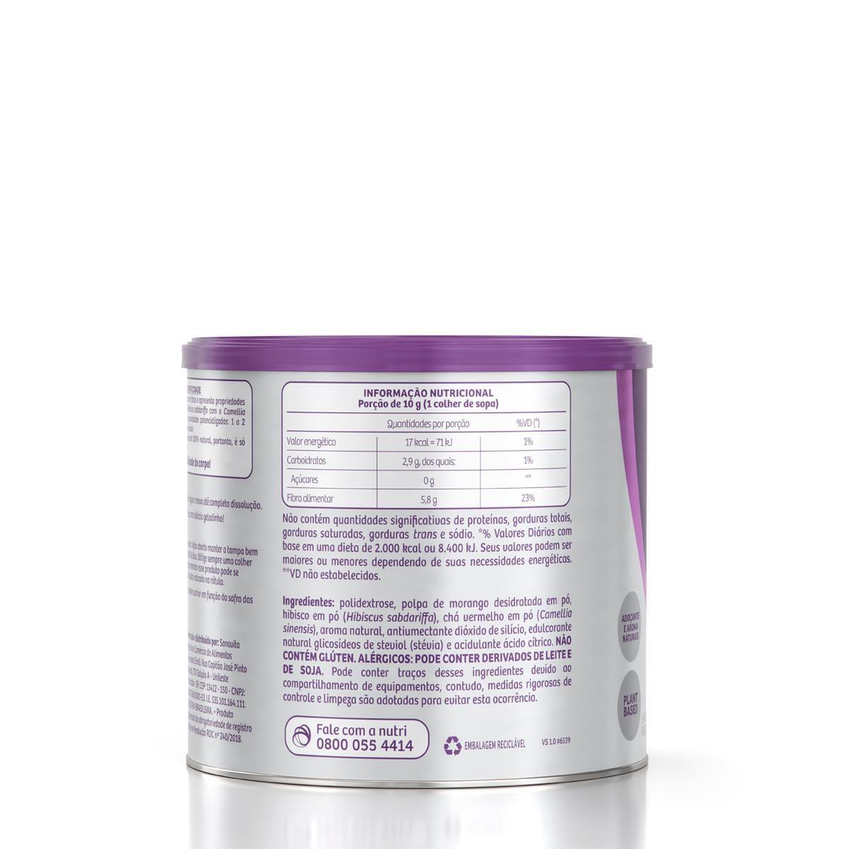 Sanavita - Chá Hibiscus sabor Uva 200g