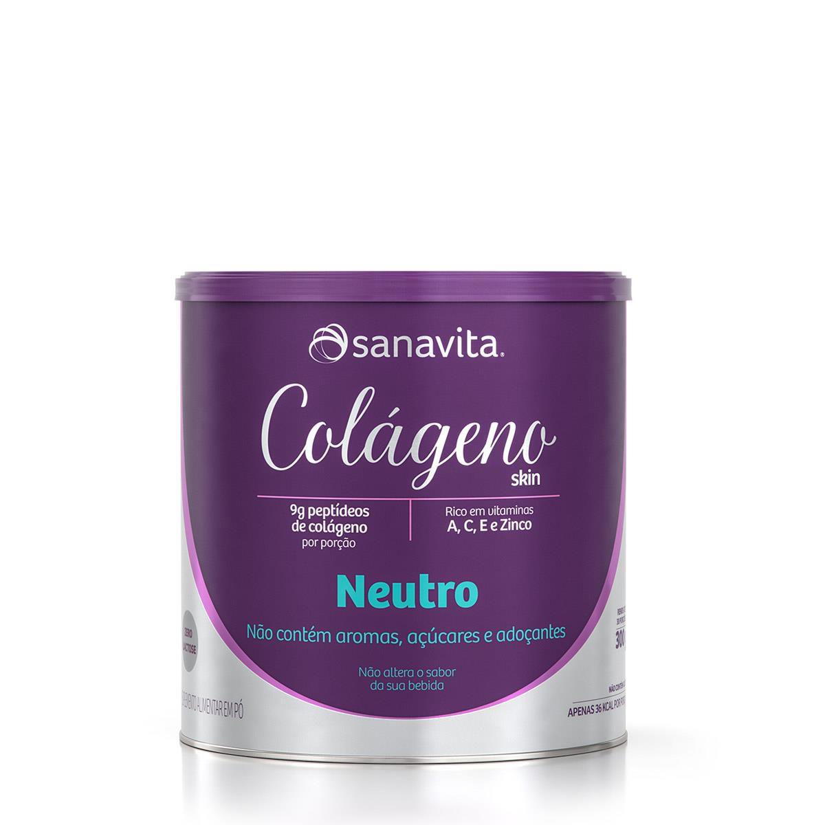 Sanavita - Colágeno Hidrolisado Neutro 300g