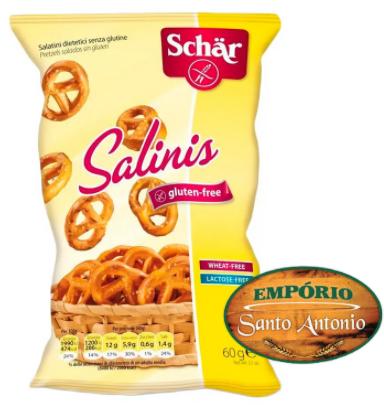 Schär - Biscoito Salgado Salinis 60g