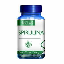Upnutri - Spirulina 60 Cápsulas Dr. Lair