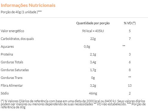 Suavipan - Bolinho Sabor Baunilha Recheio de Morango Zero Adição de Açúcar 40g