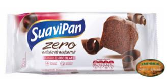 Suavipan - Bolo Zero Açúcar Sabor Chocolate 250g