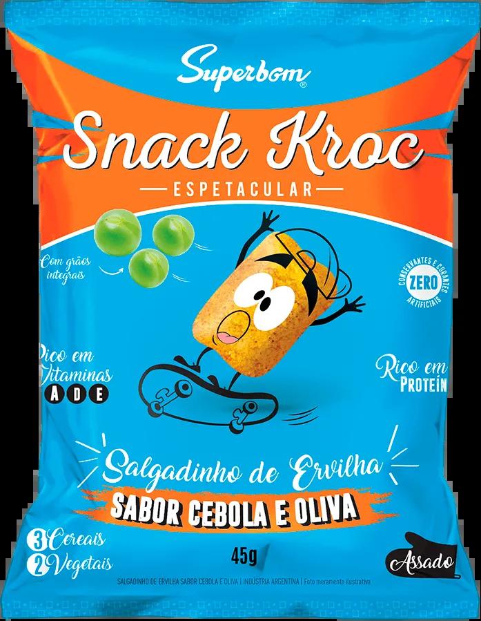 Superbom - Snack Kroc Sabores Salgados 45g