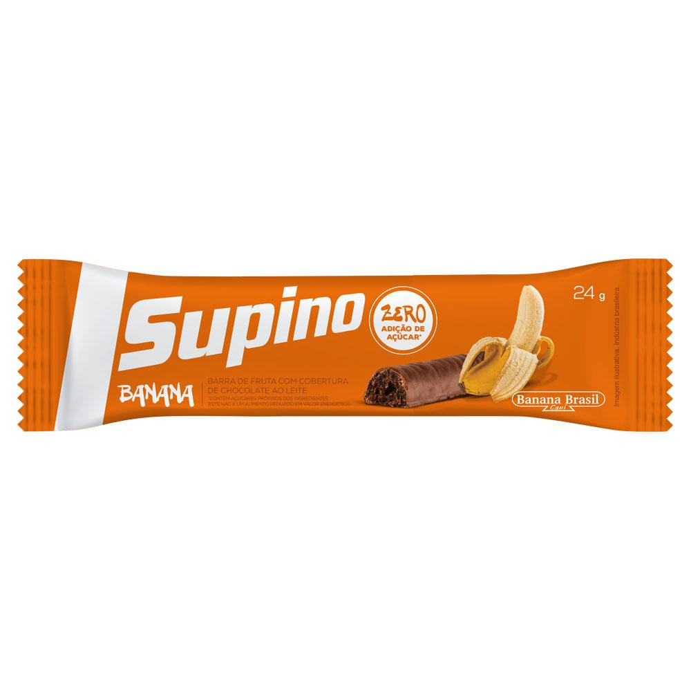 Supino - Barra de Banana e Chocolate ao Leite Diet 24g